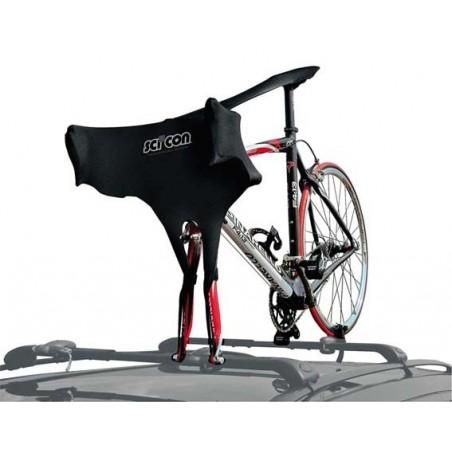 Osłona przeciwowadowa na przód roweru